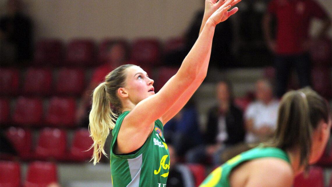 Paula Juhlin inför SM-finalerna i basket