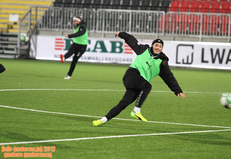 Idrottsmöte: Helén Eke – Hammarby Fotboll!